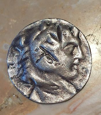 Ancient Greek Roman Silver Coin 100 BC Alexander The Great 100 AD Unknown