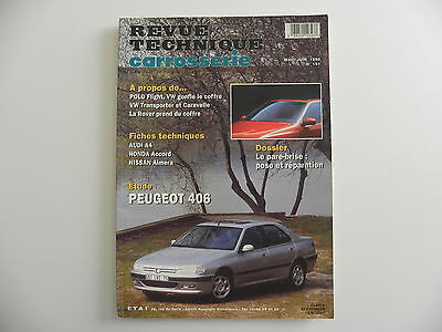 revue technique automobile carrosserie RTA PEUGEOT 406 n° 161