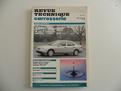 revue technique automobile carrosserie RTA FORD MONDEO 4 et 5 portes n° 148