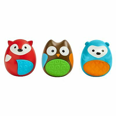 Skip Hop Egg Shaker Trio Set Animal Baby Toys With Sounds - From 3 Months