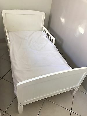 Toddler Bed White Mothers Choice With Mattress And