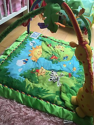 Fisher Price Rainforest Baby Gym Activity PlayMat
