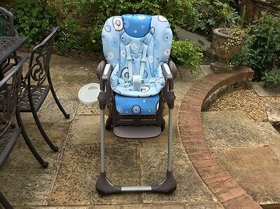 CHICCO  Polly Double Phase High chair RRP £90