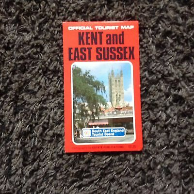 Kent And East Sussex Tourist Map