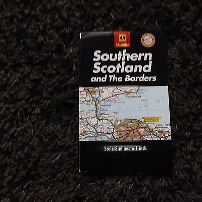 Aa Essential Map Southern Scotland & Borders