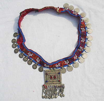 Kuchi Afghan Dangles Belt Banjara Necklace Vintage Gypsy Ethnic Necklace DB-71