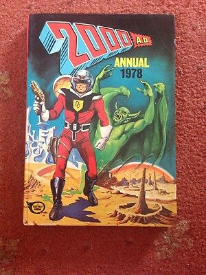 2000 AD ANNUAL 1978 Fleetway Annual Excellent Condition
