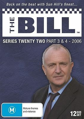 The Bill - Series 22 - Part 3 & 4 (2006) - (12 Dvd Set) Brand New!!! Sealed!!!
