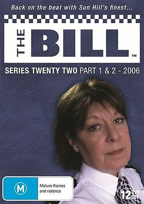 The Bill - Series 22 - Part 1 & 2 (2006) - (12 Dvd Set) Brand New!!! Sealed!!!