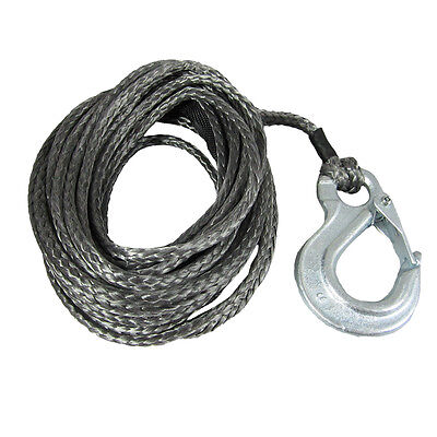 5mm X 8m Dyneema SK75 Winch Rope Snap Hook - Spectra Boat Marine Cable Webbing