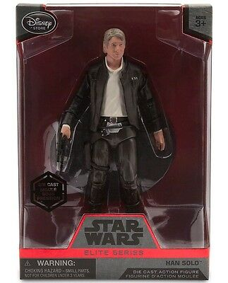 Han Solo Elite Series Die Cast Action Figure 61/2'' Star Wars: The Force Awakens