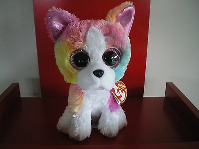 Ty Beanie Boos ISLA the dog 6 inch NWMT.Claire's Exclusive.LIMITED QUANTITY.
