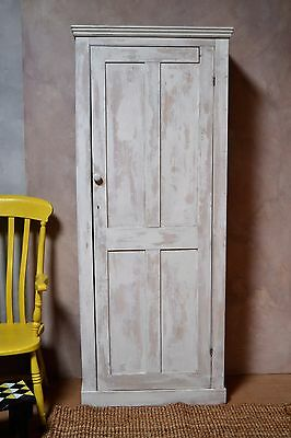 Victorian Painted Pine  cupboard- Delivery Available
