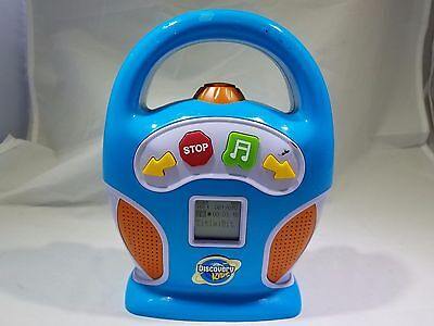 Discovery Kids Digital MP3 Portable Music Player Stereo Boombox SD Card Memory