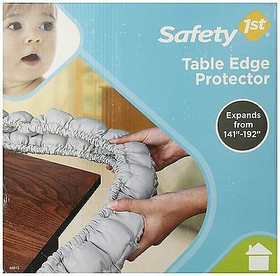 """Safety 1st First Table Edge Bumper Protector - Expandable 140"""" - 192"""" - GUC"""