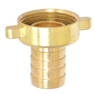 HydroSure 19mm Barbed Brass Tap Connector with 1 BSP Female Thread