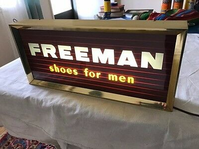 Vintage Sign Freeman Shoes