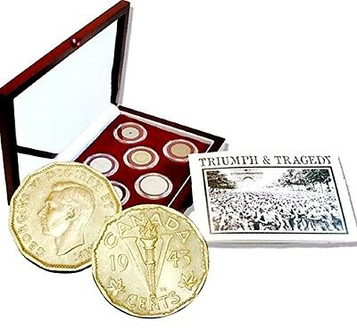The Second World War European Theater Eight Coin Presentation Box Set