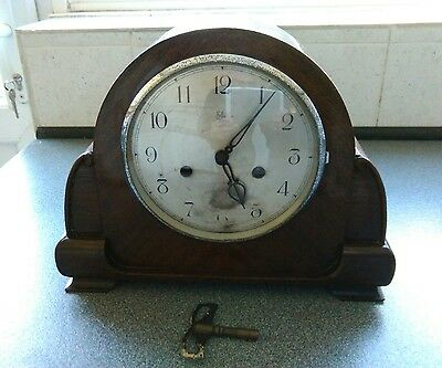 Enfield Royal Mantel Clock - not working - spares or Repair .