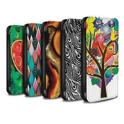 STUFF4 PU Leather Case/Cover/Wallet for Samsung Galaxy S8/G950/Modern Vibrant