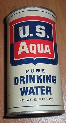 1950s / 60s Nuclear Fallout Shelter Drinking Water   US AQUA  San Jose, CA