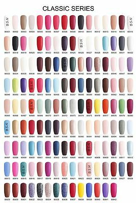 BLUESKY 80557 CLASSIC UV LED Soak Off Gel Nail Polish MATTE & SHINY COLOURS