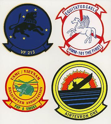 Set #1 Military Decals Top Quality Mylar From The 1970's-80's New