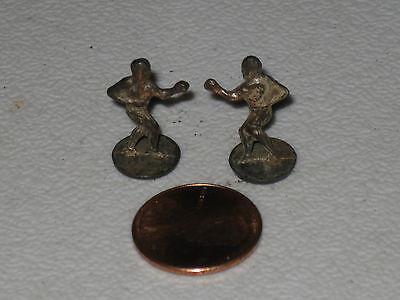 Cracker Jack Metal Charm Prizes; Lot Of 2 Boxers; Prize Fighters