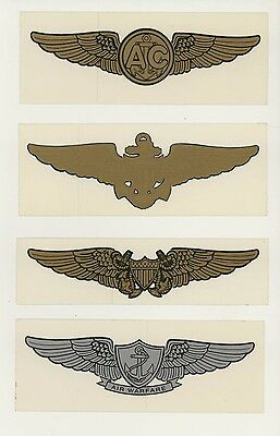 Set #5 Military Decals Top Quality Mylar From The 1970's-80's New