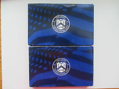 2005-S & 2006-S US Mint Proof Sets (21 Coins) -w/Box and COA