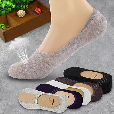 10 Pairs Men Women Invisible Liner Trainer Shoe No Show Footless Boat Sock