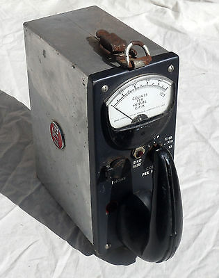 RCA Model WF-10A Geiger Counter Radiation Detector with 1B85 Tube