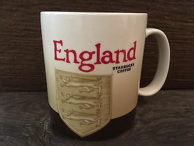 Starbucks Authentic 2009 England Rare Version 1 Collector Mug/Cup MINT