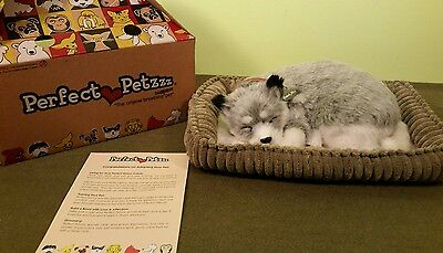 Perfect Petzzz Husky Breathing Dog Toy Works Great!