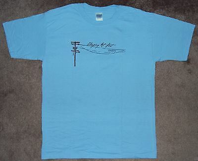 Rare Sleeping At Last Ghosts t-shirt size LARGE NEW NWOT band