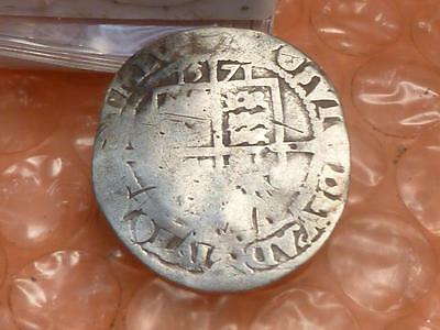 Elizabeth I Silver 1571 Sixpence Medieval Coin # 3A