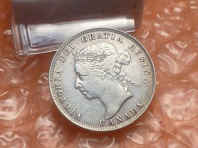 1900 Canada 25 Cents Very Fine #2