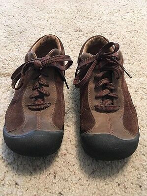 Women's Keen Brown Leather Shoes Size 6