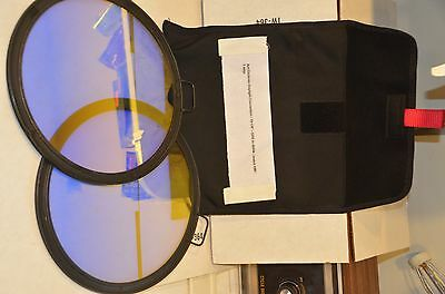 Arri 10 1/8 Dichroic conversion filters  3200K -5600k set of two
