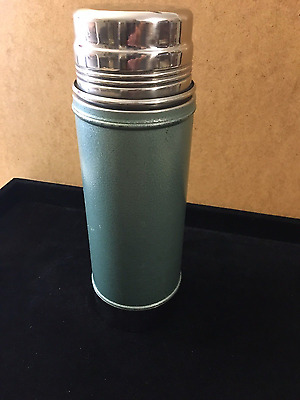 Vintage Stanley A-1357 Thermos Aladdin Stainless Steel Wide Mouth Vacuum Bottle