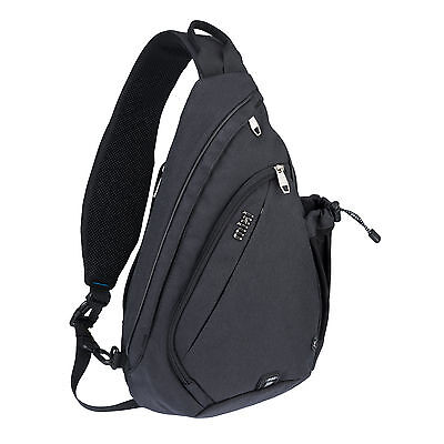 Mixi Sling Chest Bag Messenger Bag Sports Riding Pack Travel Backpack Unisex Bag