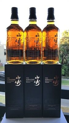 Suntory Yamazaki 2014, 2015 & 2016 Limited Edition Japanese Whisky 700ml