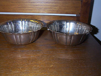 Two Silver Plated Tiffany & Co Bowls