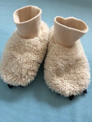 H&M Baby Shoes/ Socks With Paws (6-12 months)