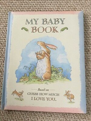My Baby Book Based On 'Guess How Much I Love You'