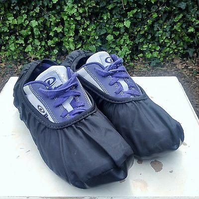 Ebonite Dry Dog Bowling Shoe Cover (pair) in Black size Small