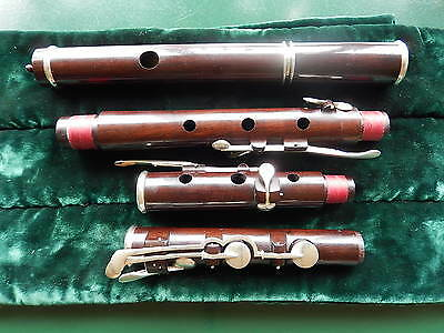 Antique restored Rudall and Rose style English flute, excellent for Irish music