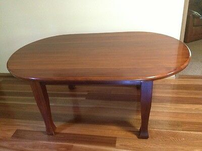 Solid Backwood Dining Table, original 1930's