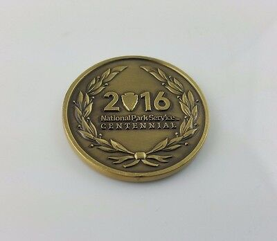 NPS National Park Service 2016 Centennial Volunteer Award Challenge Coin (New)