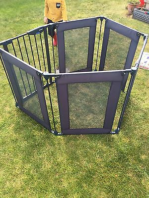 Lindam Safe And Secure Fabric Playpen / Safety Guard